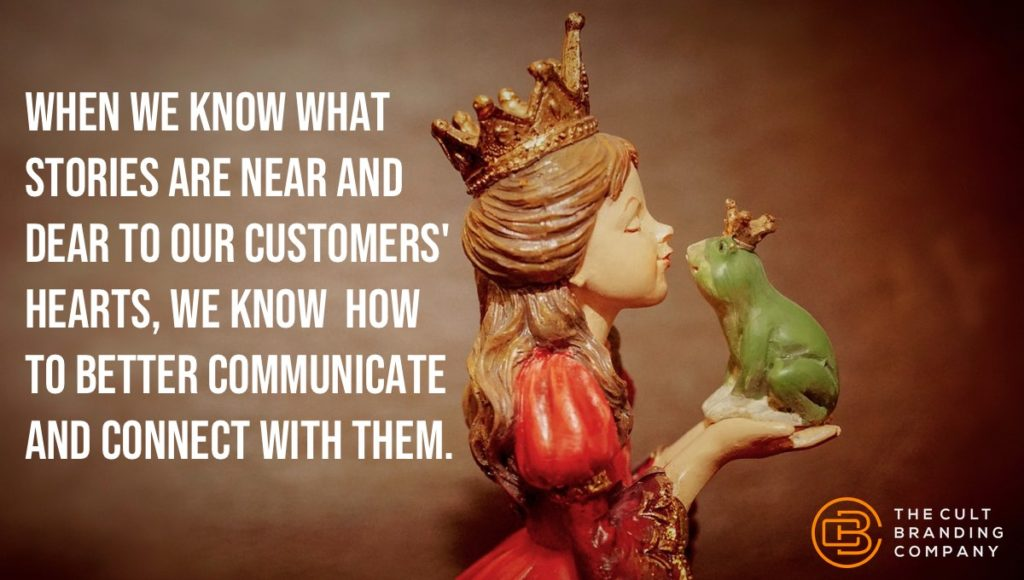 When we know what stories are near and dear to our customers' hearts, we know how to BETTER communicate and connect with them.
