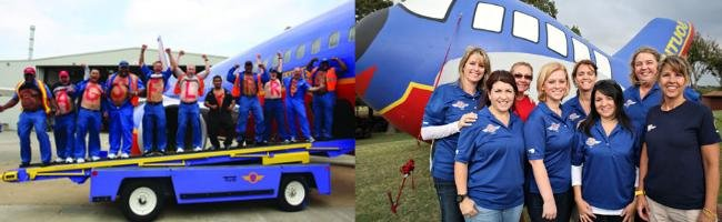 Southwest Airlines brand lovers