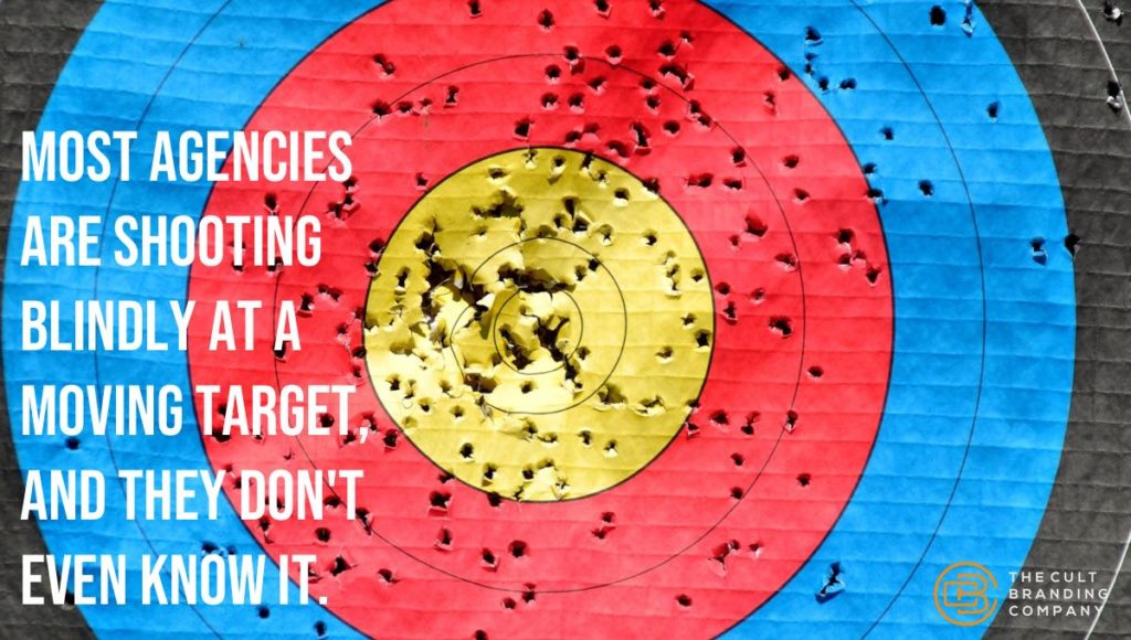 Most agencies are shooting blindly at a moving target, and they don't even know it.