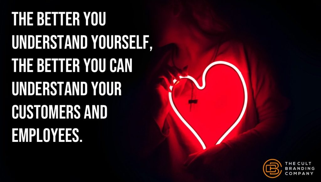 The better you understand yourself, the better you can understand your customers and employees.