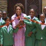 Oprah School Dedication